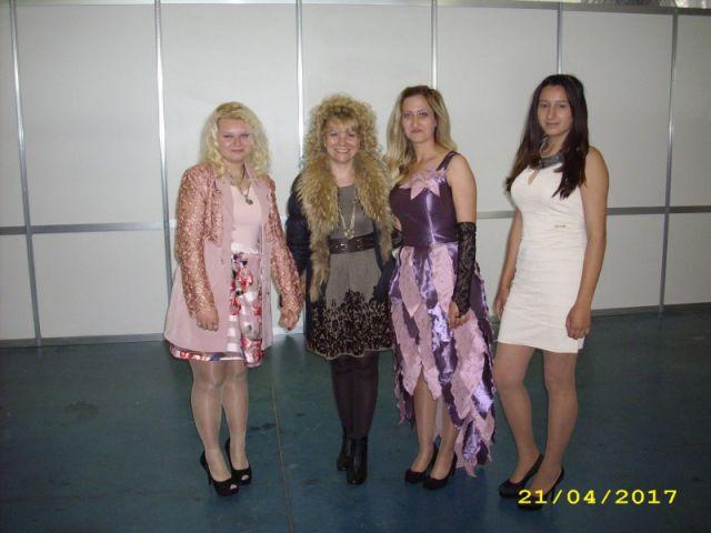 """Национално състезание """"Млади таланти в модата"""" гр. Пловдив"""
