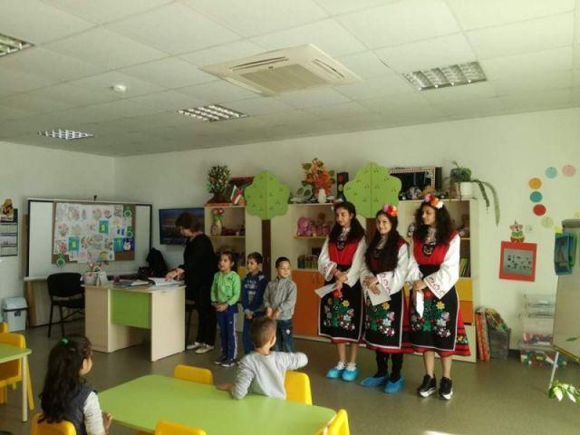 """Посещение на детската градина в кв. """"Надежда"""" – гр. Сливен"""