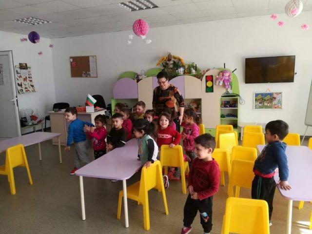 """Посещение на детската градина в кв. """"Надежда"""" – гр. Сливен [02.03.2020]"""