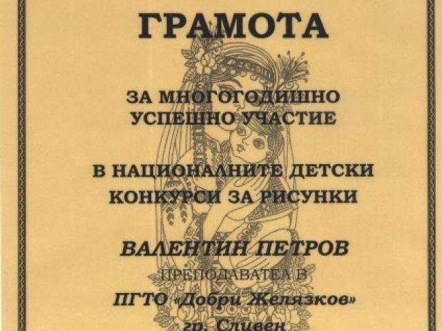 Второ място на учениците от ПГТО-Сливен