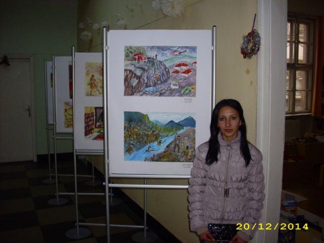 """ІІІ-та награда за рисунка от Национален конкурс на тема """"Моята история"""""""