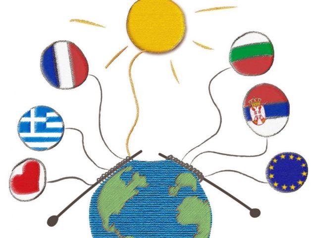 "Лого по проекта ""Let the sun shine in our schools"""